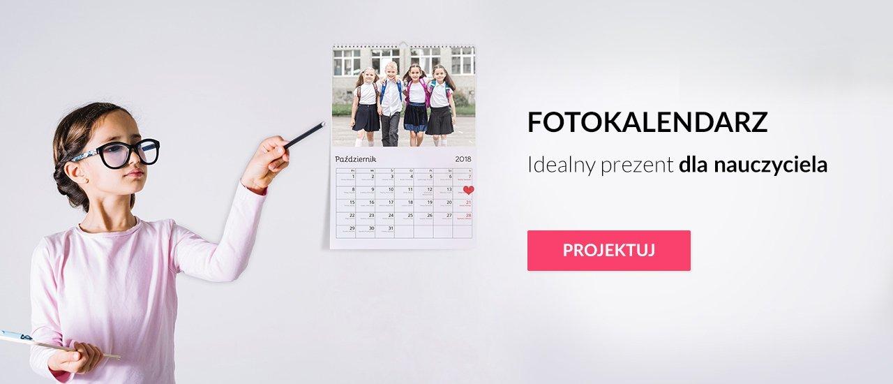 Fotokalendarz A3 Pion dla nauczyciela